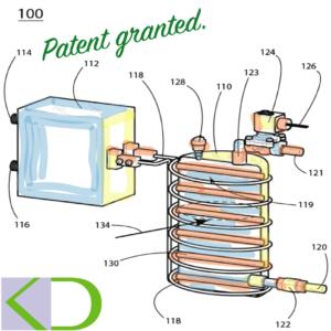 patent drawing steam generator