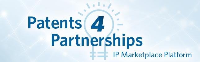 patents4partnerships logo, USPTO